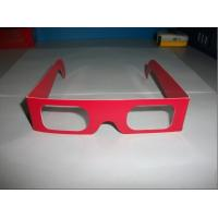 China Disposable Paper 3D Glasses For Children , Cardboard Xpand 3d Glasses wholesale