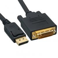 China DisplayPort to DVI Video Cable, DisplayPort Male to DVI Male, 3 foot wholesale
