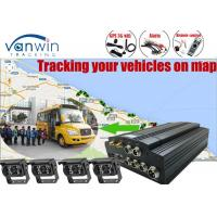 China HDD Mobile Black Box CCTV DVR Kit  GPS Camera with 7inch monitor for Truck wholesale