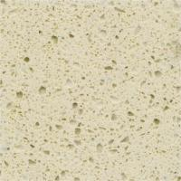 China Functional Cream Quartz Stone Countertops With Flat Edge And Eased Edge wholesale