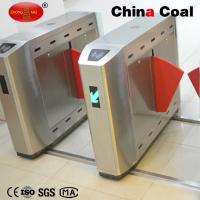China 2016 New Fingerprint access control flap turnstile gate with fire alarm system wholesale