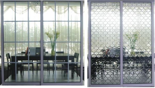 3d room design interior images for Interior sliding partition doors