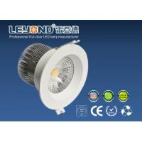 China Anti - Glare Lens Beam10 / 24 / 90 Degree Cree Led Downlight Dimmable 12w on sale