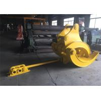 China Mechanical Big Excavator Grapple For Komatsu PC340 and PC450 Heavy Duty wholesale