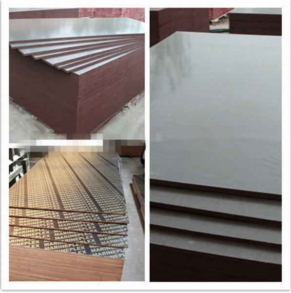 Quality hot sale good quality 18mm poplar/hardwood wbp construction plywood to middle east market for sale