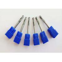 China Solid Carbide End Mill Bits For Stainless Steel 50-100mm Overall Length wholesale