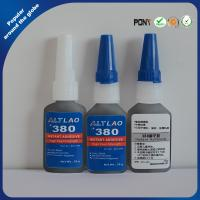 Black Cyanoacrylate Adhesive Industrial Strength Super Glue for Plastic