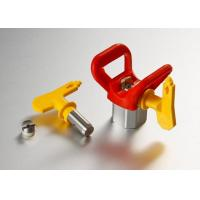 China Airless Paint Spray Gun Tips With Tip Base , Spray Equipment Parts wholesale