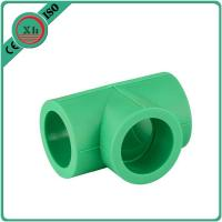 China Durable Plastic Pipe Tee Polypropylene Random / Ppr Pipes And Fittings wholesale
