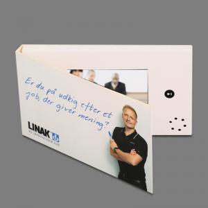Buy cheap Vídeo no folheto da cópia cartão video de 4,3 polegadas com impressão deslocada from wholesalers