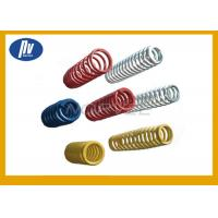 China Carbon Steel Compression Coil Springs , Black Heavy Duty Compression Springs wholesale