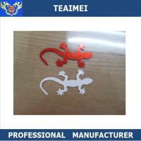 China Unique 3D Wall Lizard Sticker Custom Car Emblems ABS Badges 3M Adhesive wholesale