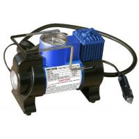 China Metal Car Tire Air Compressor With Lamp / 100PSI Small Air Compressor For Tires wholesale