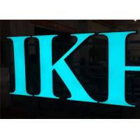 China Frontlit Custom Channel Letter Signs, Waterproof Outdoor DC12V Acrylic Material wholesale