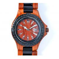 China Luxury natural wood watches / Wooden Bracelet Watch for ladies , multi color on sale