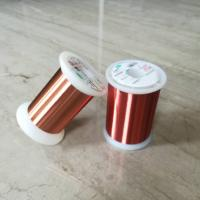 China 0.028mm Polyester Enameled Ultra Fine Copper Wire For Transformers / Relays wholesale