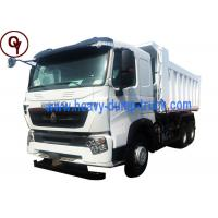 China Chinese Sinotruk HOWO A7 6x4 volume sand tipper dump truck for sale on sale
