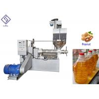 China Automatic screw oil press groundnut oil processing machine for cooking oil on sale