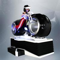China 1 Person Online Race 9D Vr Driving Motorcycle Racing Car Simulator Game Machine For Sale wholesale