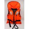 Orange Color Nylon Water Sport Life Jacket 100N Boat Flotation Lifevest