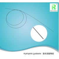 China Medical Device Hydrophilic Guidewire Nitinol Smooth Urology Disposable on sale