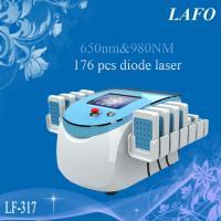 650&980nm Dual Wavelength Lipo Laser/ Diode Slimming Laser Machine