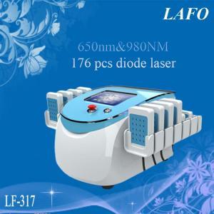 China 650&980nm Dual Wavelength Lipo Laser/ Diode Slimming Laser Machine wholesale
