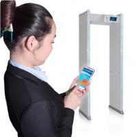Buy cheap Semi - Outdoor Portable Door Frame Metal Detector App Remote Controlled from wholesalers