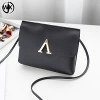 China Wholesale price new design small messenger bag simple design crossbody wallet bag different color factory phone purse wholesale