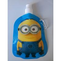 China Customizable logo PE PET NY Spout Pouches with carabiner hook wholesale