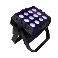 Buy cheap Square Size 12pcs rgbwauv 6in1 Battery 2.4G Wireless Control Led Wall Wash Light from wholesalers