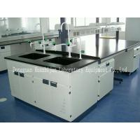 China Research Lab Bench Furniture 3*1.5*0.85m Table Size With Adjustable Feet wholesale
