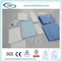 China Non woven and PE Laminated Surgical Delivery Drape Pack wholesale