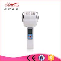 Hot and Cold Hammer Facial massager Skin Tighten and rejuvenation Ultrasonic Therapy Machine