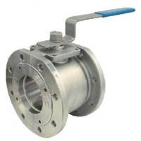 """China Flanged End Small Size Trunnion Ball Valve 1/2"""" - 4"""" Steel Material Lever Operation wholesale"""