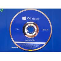 China Microsoft OEM Product DVD Disk , Windows 8.1 Pro English Version With COA License on sale