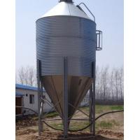 China poultry galvanized feed silo wholesale