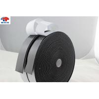 China Strong Sticky hook and loop fastener tape Black Adhesive Back hook & loop tape on sale