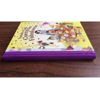 China Thread Sewing Hardbound Book Printing UV Coating For Coloring Baby Photo Book on sale