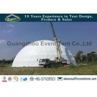 Custom Amusement Park Big Dome Tent , Metal Geodesic Dome For Sport Center