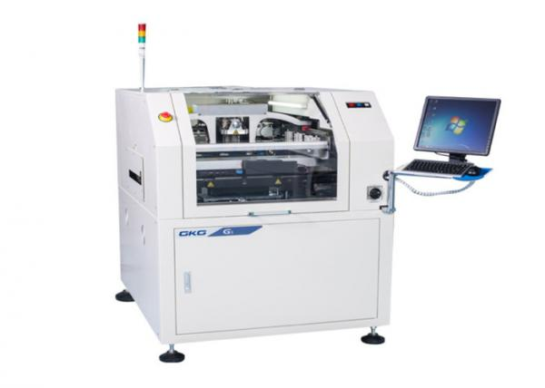 Quality GKG SMT Stencil Printer Machine Windows Operation Tower Light 0.01mm Accuracy for sale