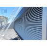 China Architectural Hurricane Aluminium Extruded Windows Powder Coated Fixed Louver wholesale