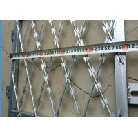 Buy cheap Galvanized Welded Razor Wire Blade Sheet BTO-22 CBT-60 For Security Fence / Screen from wholesalers