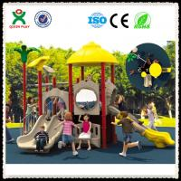 China Cheap Playground Sets Kids Outdoor Playground Sets Made in China QX-008A wholesale