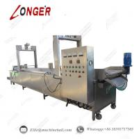 Buy cheap Peanut Continuous Frying Machine|Industrial Peanut Fryer Equipment|Automatic from wholesalers