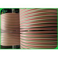 Buy cheap 13mm 15mm Food Grade Paper Roll / Uncoated Alleviated Marine Pollution from wholesalers