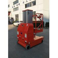 China 2 Masts , Max Height 9m Self-Propelled Aluminum Aerial Work Platform with Lift Capacity of 150kg wholesale