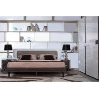 China Self - Assembly Modern Bedroom Furniture Sets With Solid Wood / High Gloss on sale