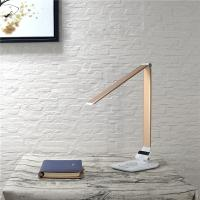 Buy cheap Wireless Charger Dimmable Led Desk Lamp Changeable CCT 5 Grades Brightness from wholesalers
