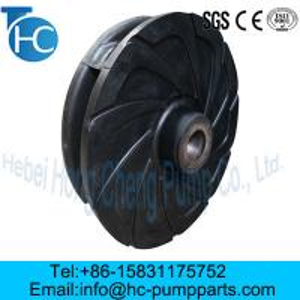 China Slurry Pump Parts Rubber Impeller wholesale